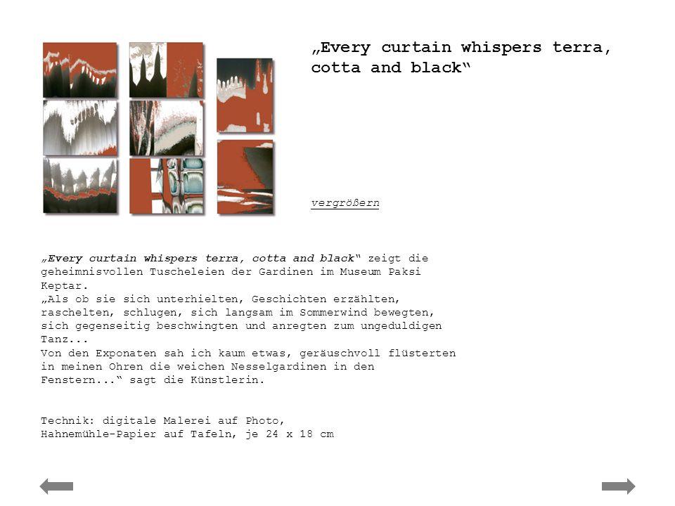 Ute Elisabeth Herwig - curtain whispers