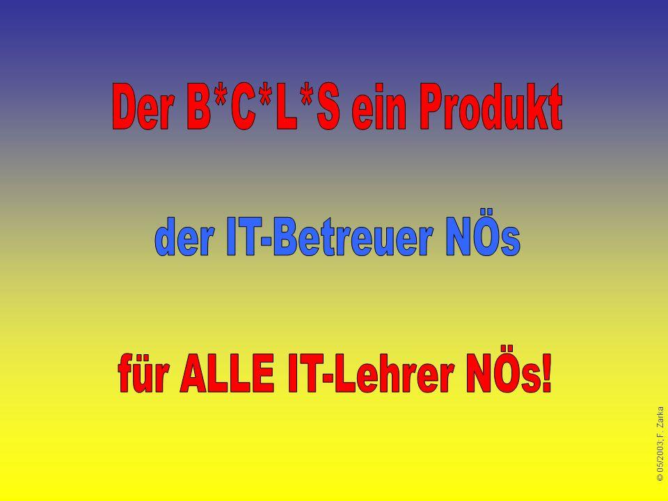 Der B*C*L*S ein Produkt