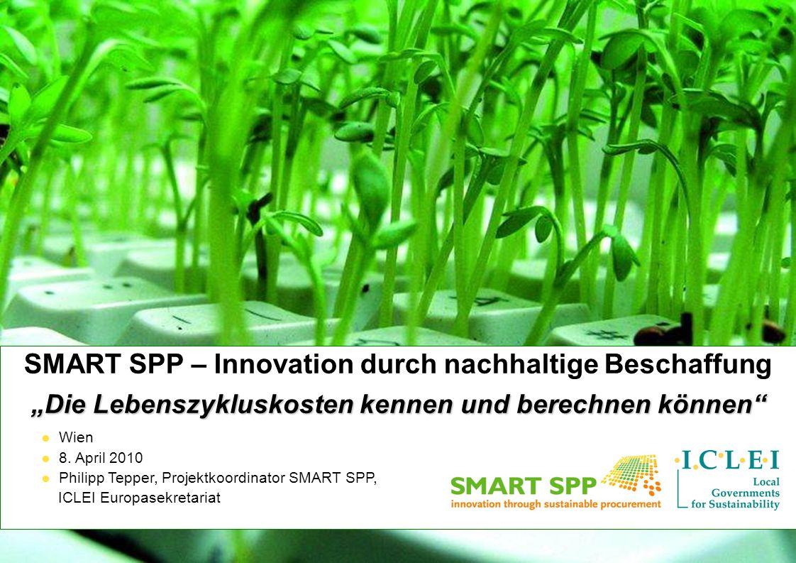 SMART SPP – Innovation durch nachhaltige Beschaffung