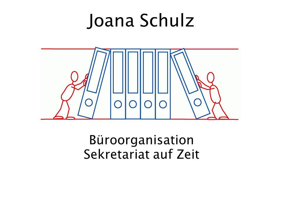 Büroorganisation Sekretariat auf Zeit