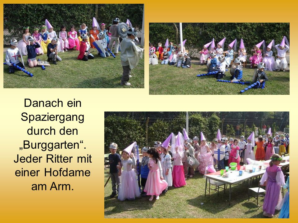 """Danach ein Spaziergang durch den """"Burggarten"""