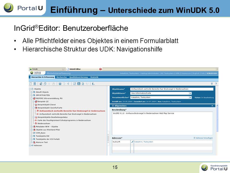 Einführung – Unterschiede zum WinUDK 5.0