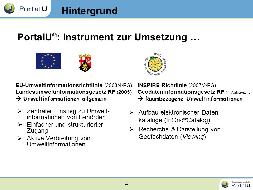 PortalU®: Instrument zur Umsetzung …