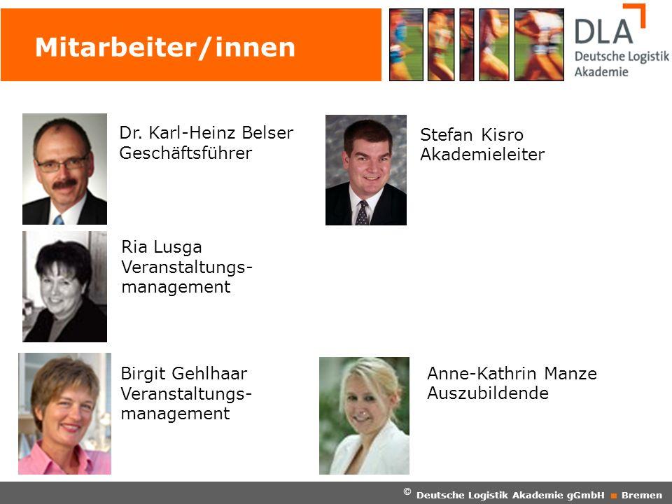 Mitarbeiter/innen Dr. Karl-Heinz Belser Geschäftsführer