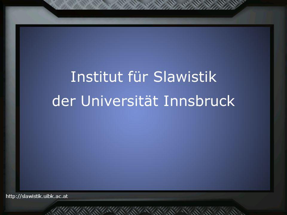 Institut für Slawistik der Universität Innsbruck