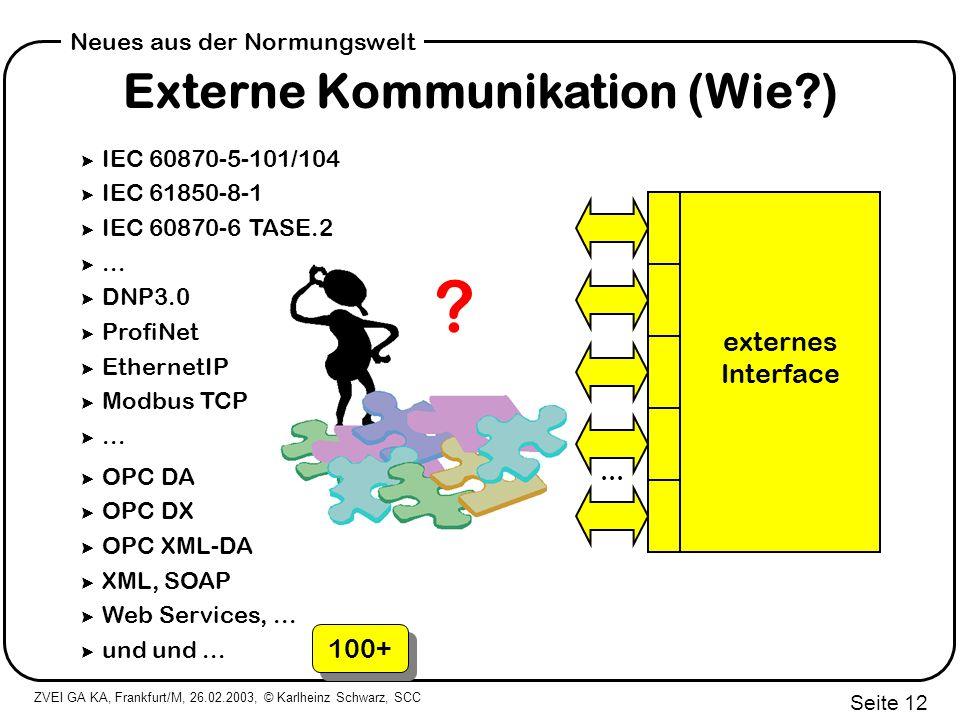 Externe Kommunikation (Wie )