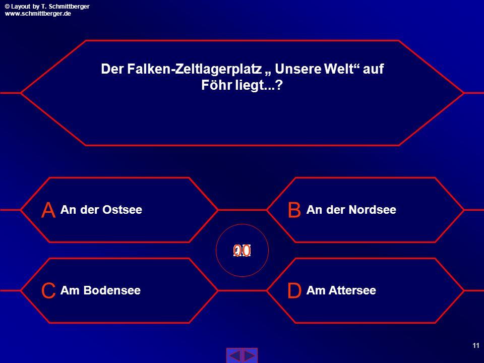 """Der Falken-Zeltlagerplatz """" Unsere Welt auf Föhr liegt..."""