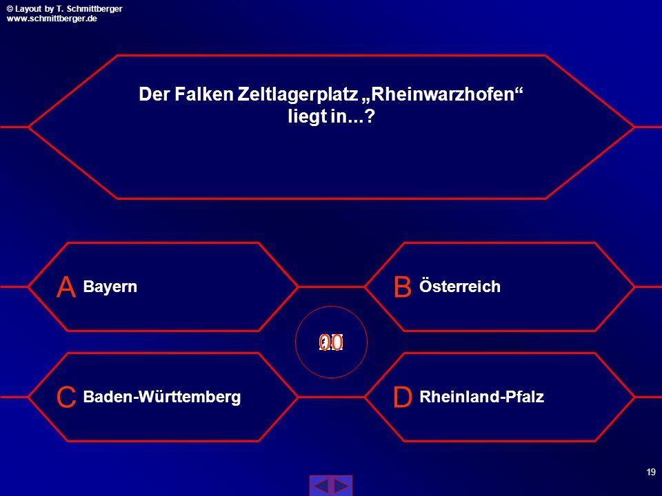"""Der Falken Zeltlagerplatz """"Rheinwarzhofen liegt in..."""