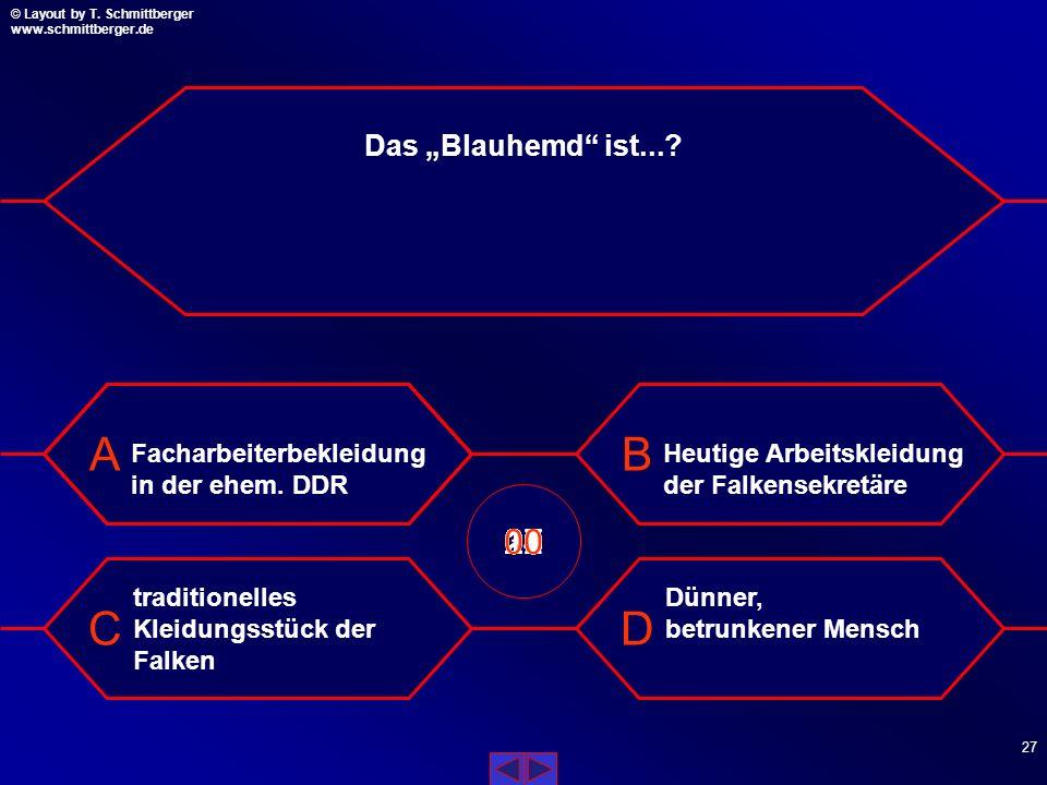 """Das """"Blauhemd ist... Facharbeiterbekleidung in der ehem. DDR. Heutige Arbeitskleidung der Falkensekretäre."""