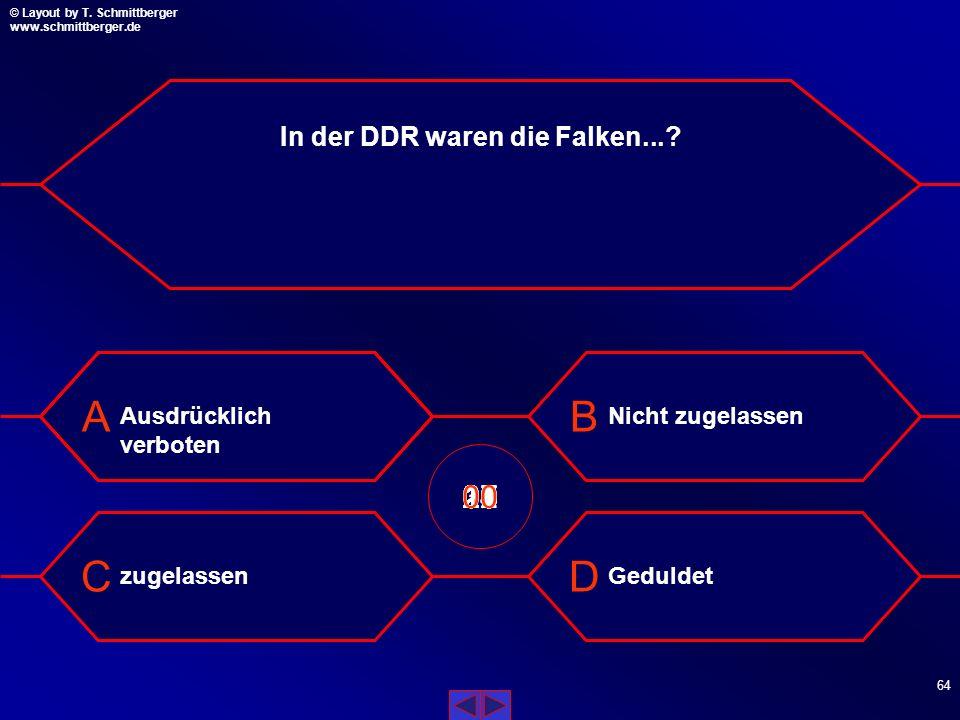 In der DDR waren die Falken...