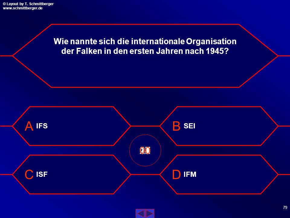 Wie nannte sich die internationale Organisation der Falken in den ersten Jahren nach 1945
