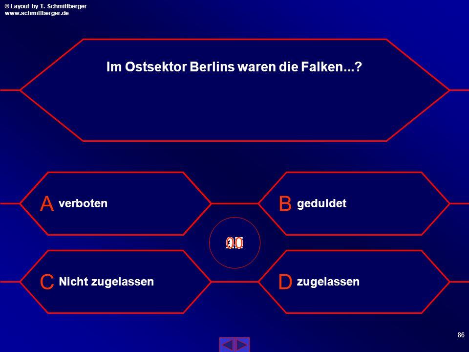 Im Ostsektor Berlins waren die Falken...
