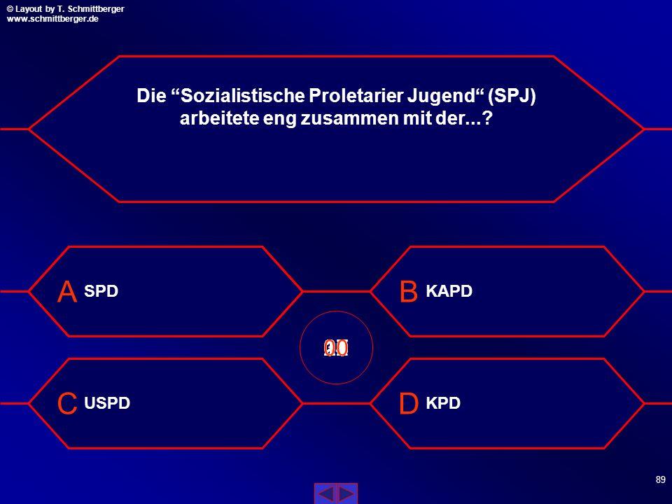 Die Sozialistische Proletarier Jugend (SPJ) arbeitete eng zusammen mit der...