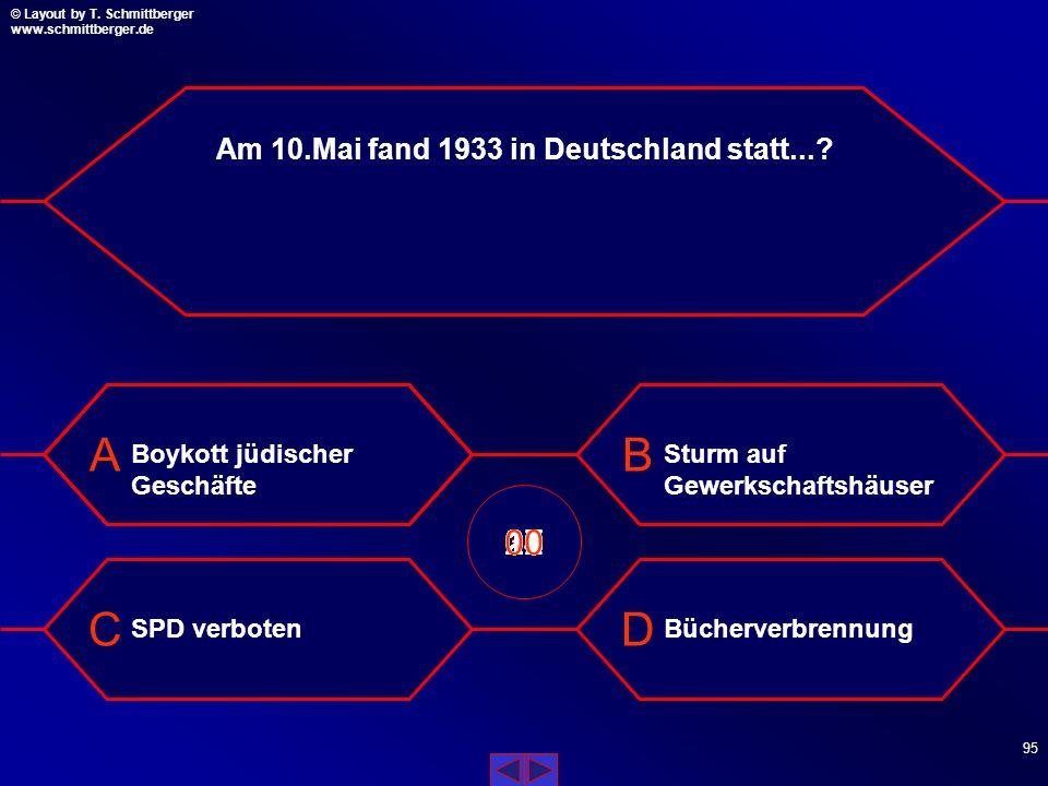 Am 10.Mai fand 1933 in Deutschland statt...