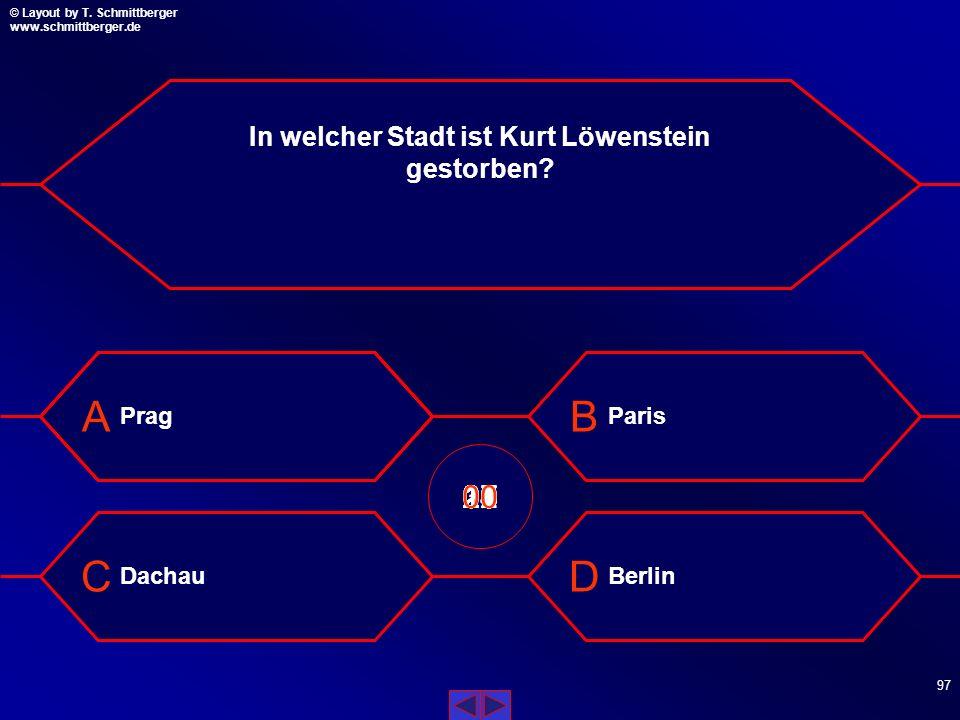 In welcher Stadt ist Kurt Löwenstein gestorben