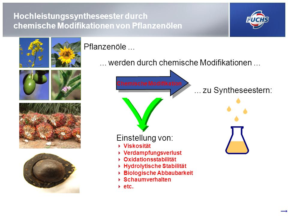 Chemische Modifikation