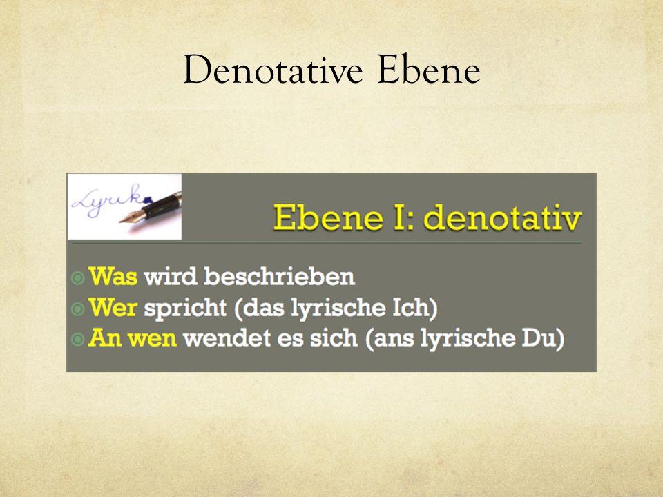Denotative Ebene