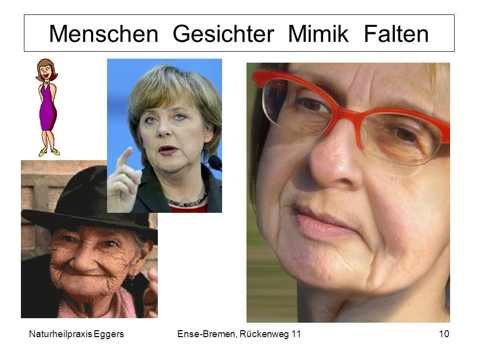 Menschen Gesichter Mimik Falten