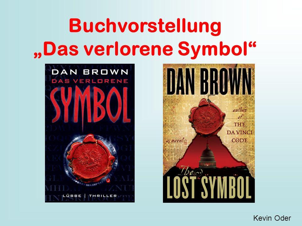 """Buchvorstellung """"Das verlorene Symbol"""