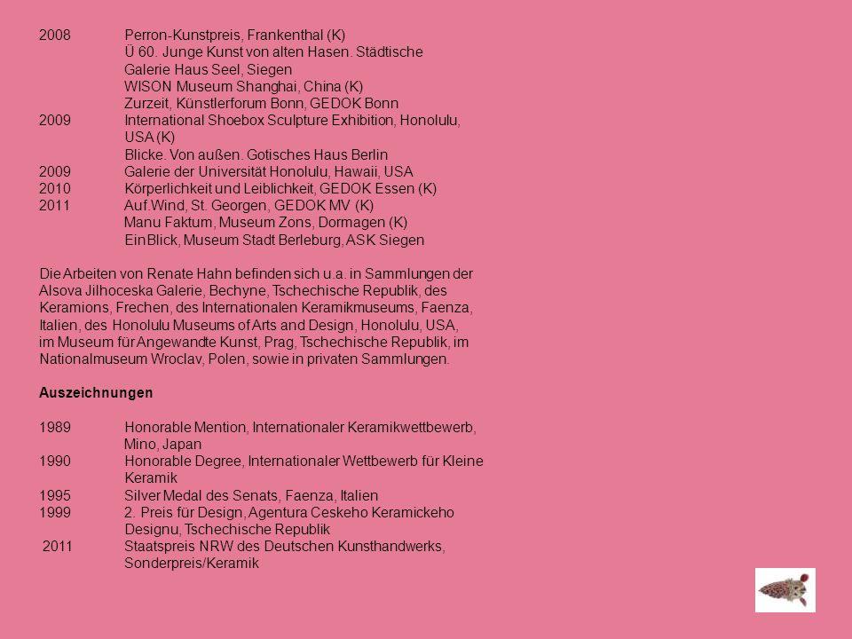 2008 Perron-Kunstpreis, Frankenthal (K)