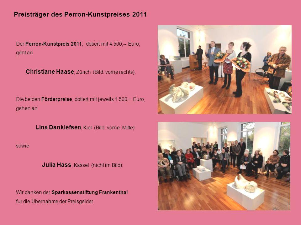 Preisträger des Perron-Kunstpreises 2011