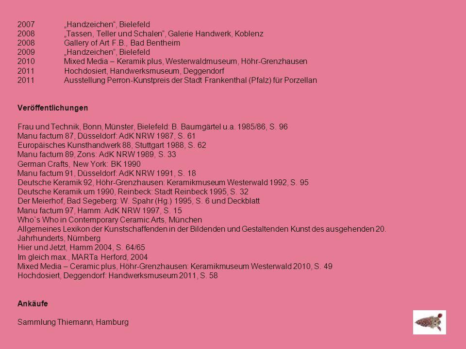 """""""Handzeichen , Bielefeld"""