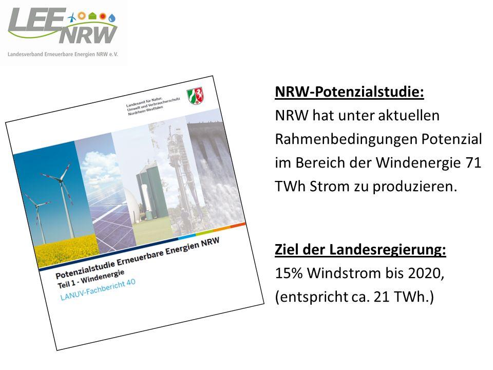 NRW-Potenzialstudie: