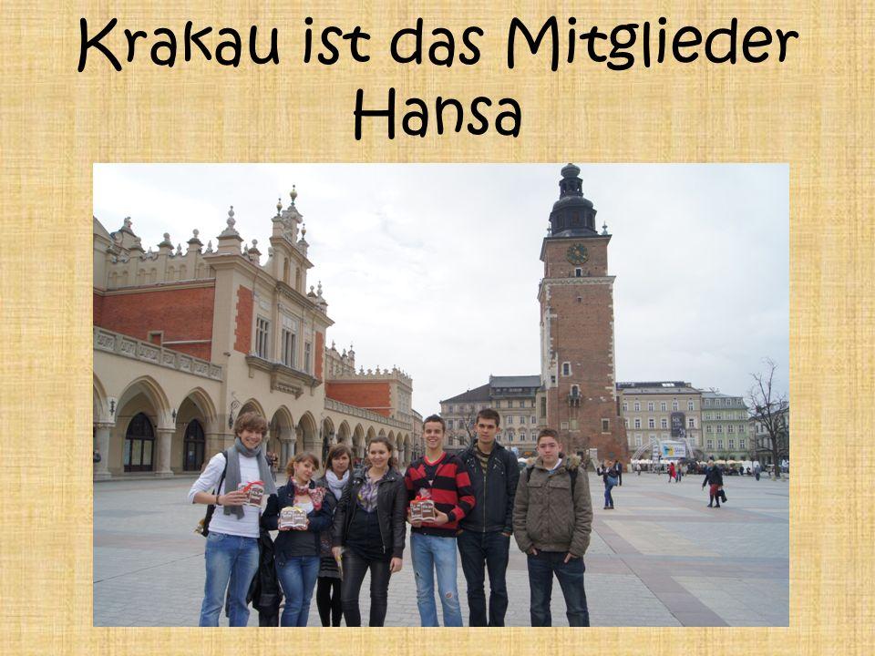 Krakau ist das Mitglieder Hansa