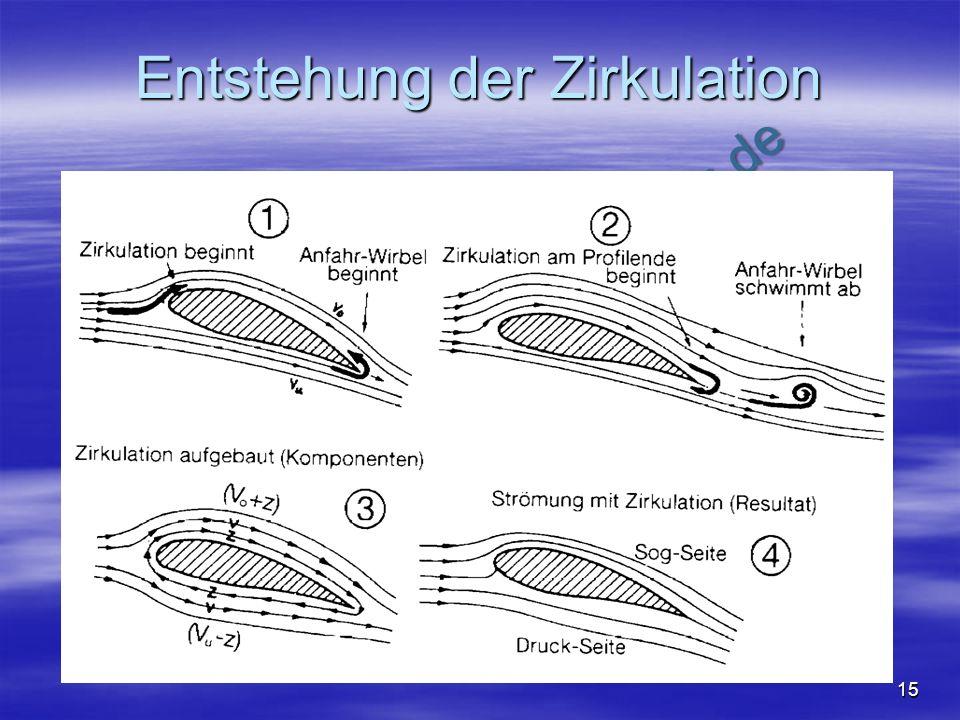 Entstehung der Zirkulation