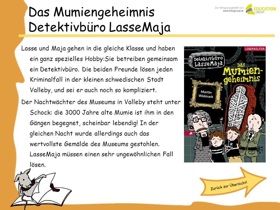 Das Mumiengeheimnis Detektivbüro LasseMaja