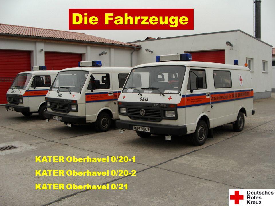 Die Fahrzeuge KATER Oberhavel 0/20-1 KATER Oberhavel 0/20-2