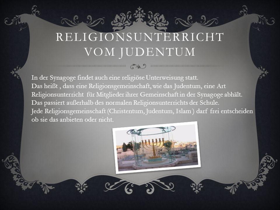 Religionsunterricht vom Judentum