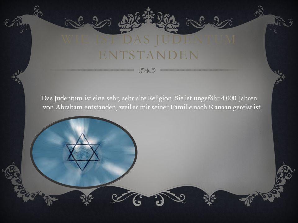 Wie ist das Judentum entstanden