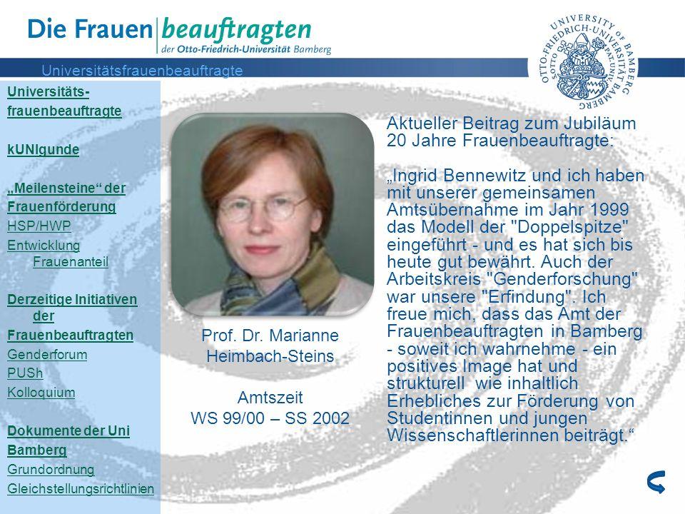 Universitätsfrauenbeauftragte