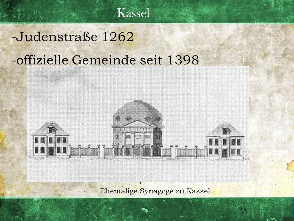 Ehemalige Synagoge zu Kassel