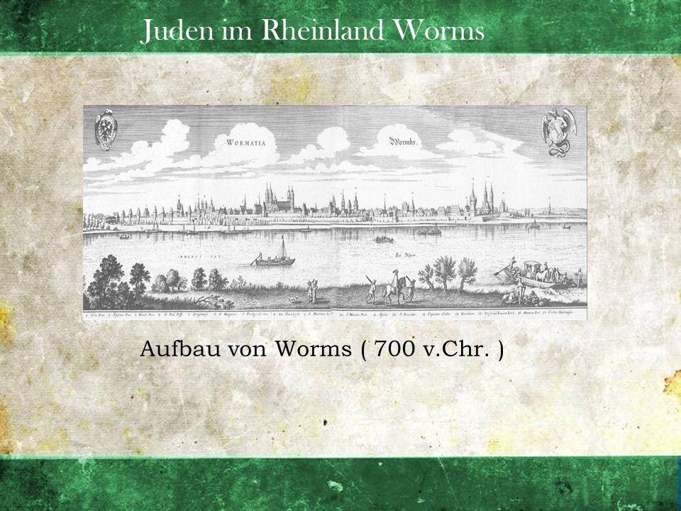 Juden im Rheinland Worms