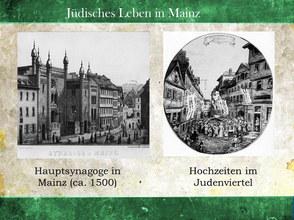 Jüdisches Leben in Mainz