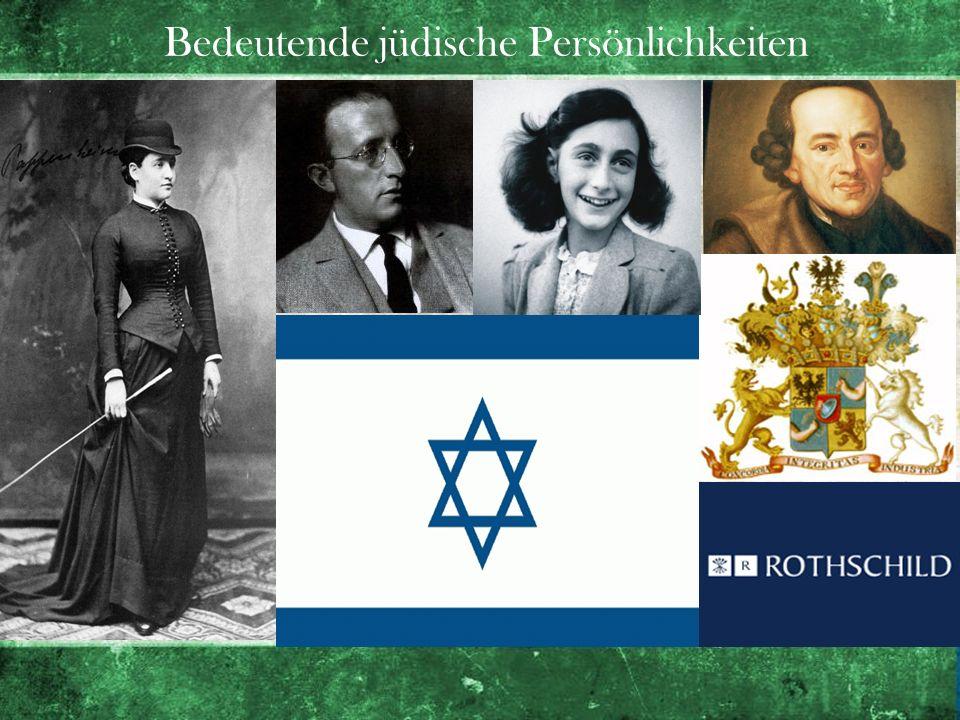 Bedeutende jüdische Persönlichkeiten