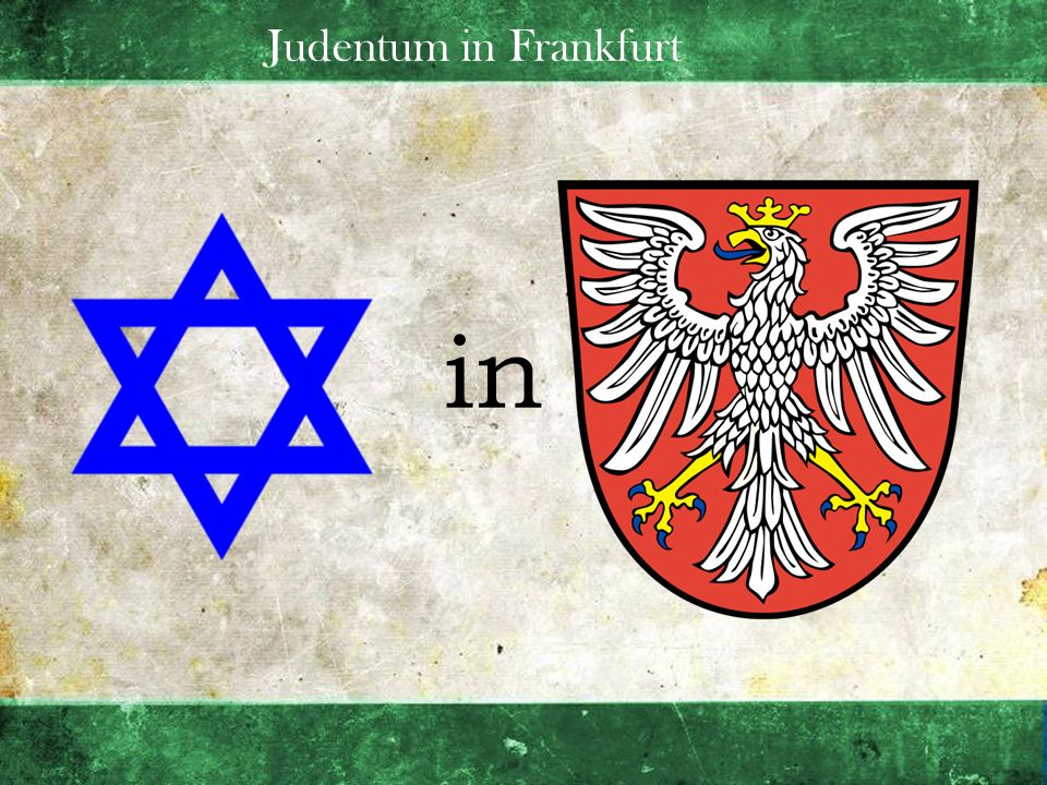 Judentum in Frankfurt in