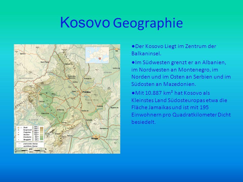 Kosovo Geographie