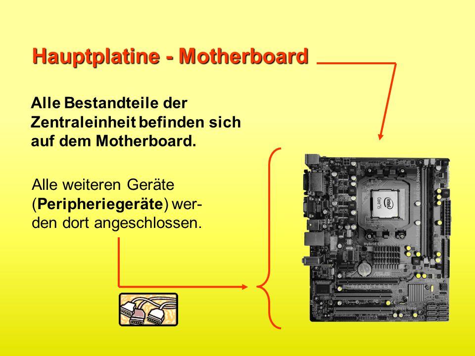 Hauptplatine - Motherboard