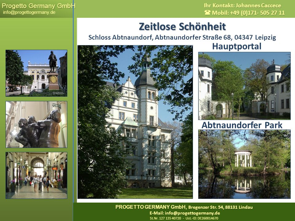 Zeitlose Schönheit Schloss Abtnaundorf, Abtnaundorfer Straße 68, 04347 Leipzig