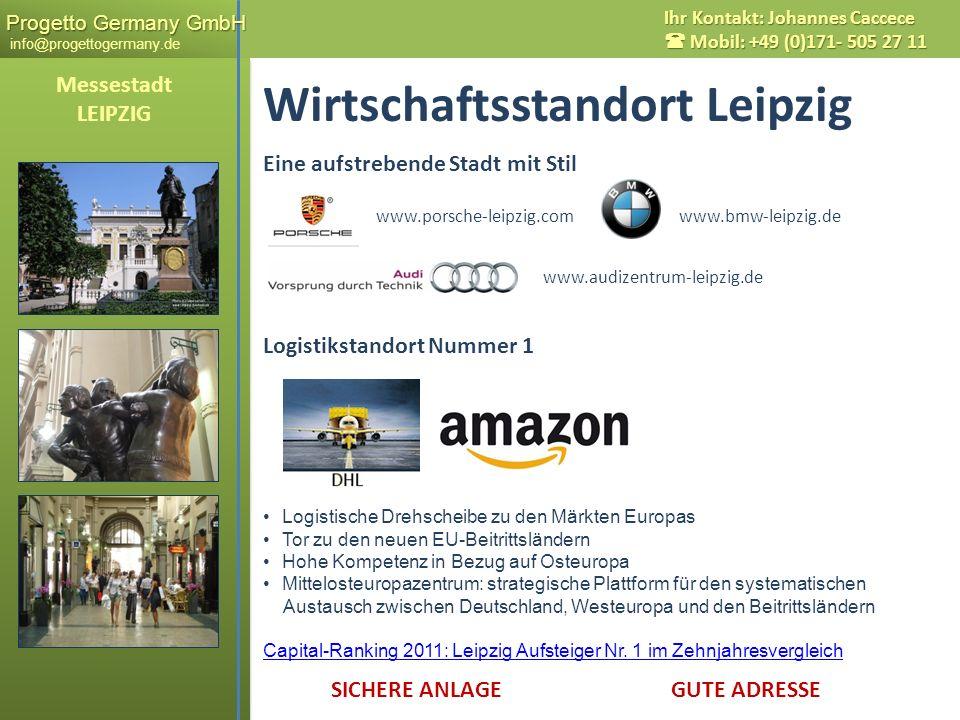 Wirtschaftsstandort Leipzig