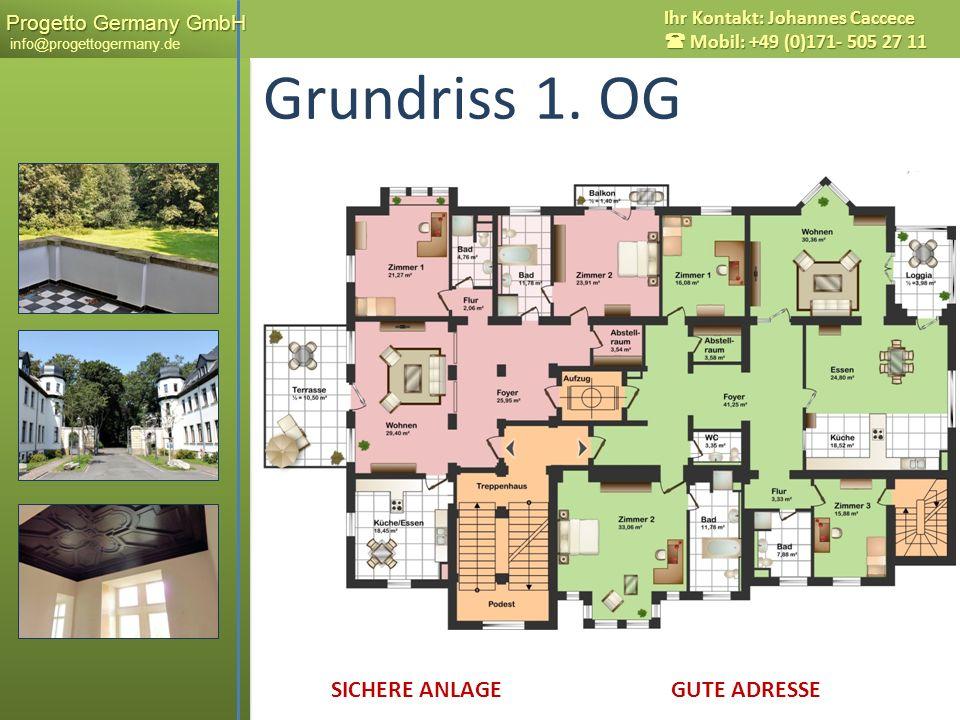 Grundriss 1. OG Messestadt LEIPZIG