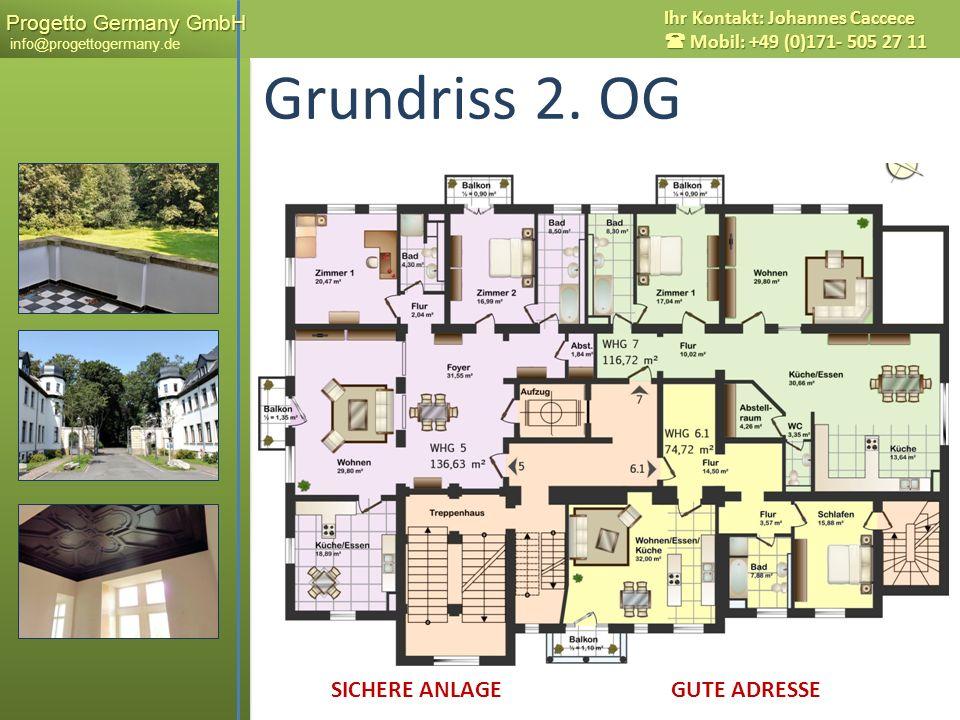 Grundriss 2. OG Messestadt LEIPZIG