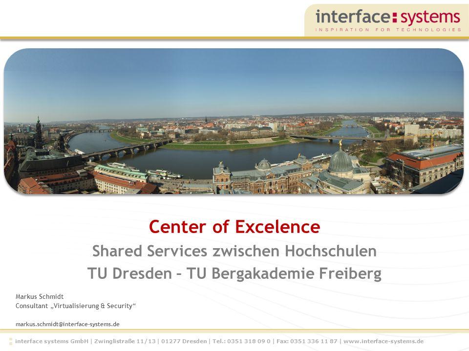 Center of Excelence Shared Services zwischen Hochschulen