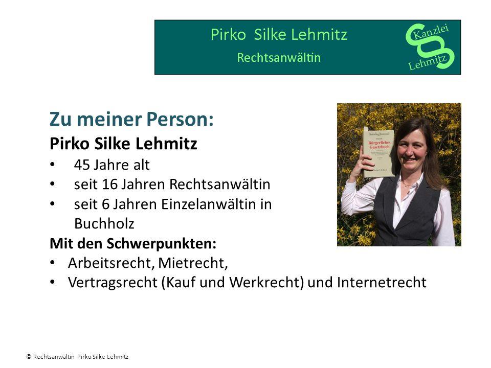 Zu meiner Person: Pirko Silke Lehmitz 45 Jahre alt