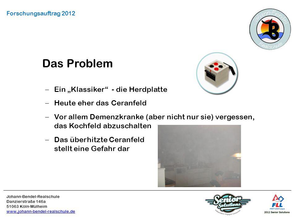 """Das Problem Ein """"Klassiker - die Herdplatte Heute eher das Ceranfeld"""