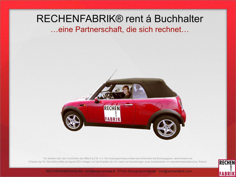 RECHENFABRIK® rent á Buchhalter