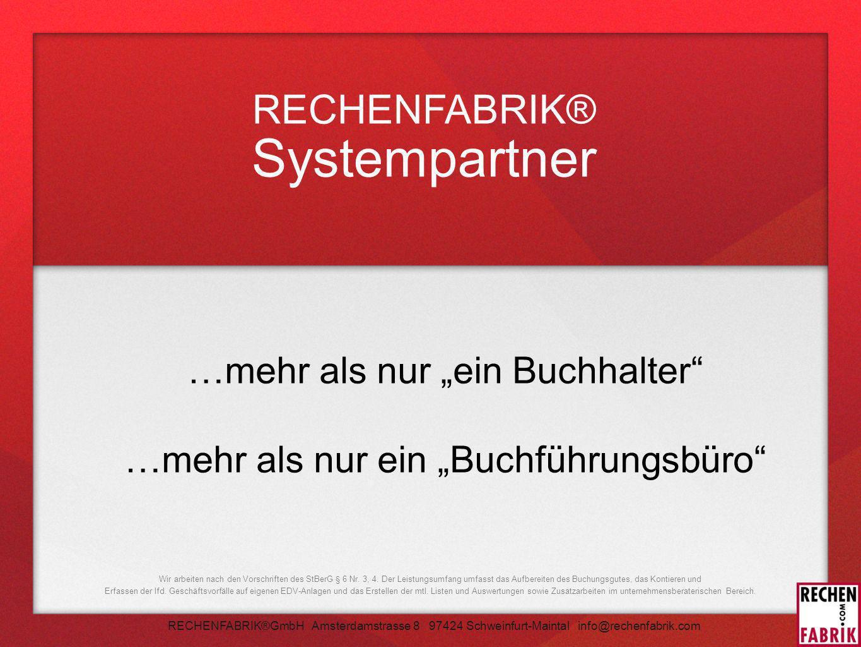 RECHENFABRIK® Systempartner